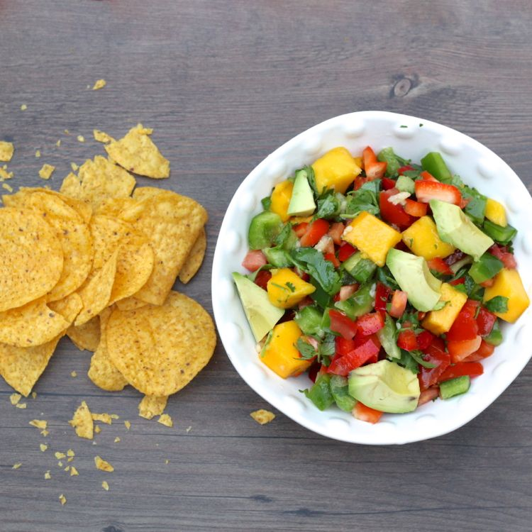 Mango Avocado Tomato Salsa Recipe