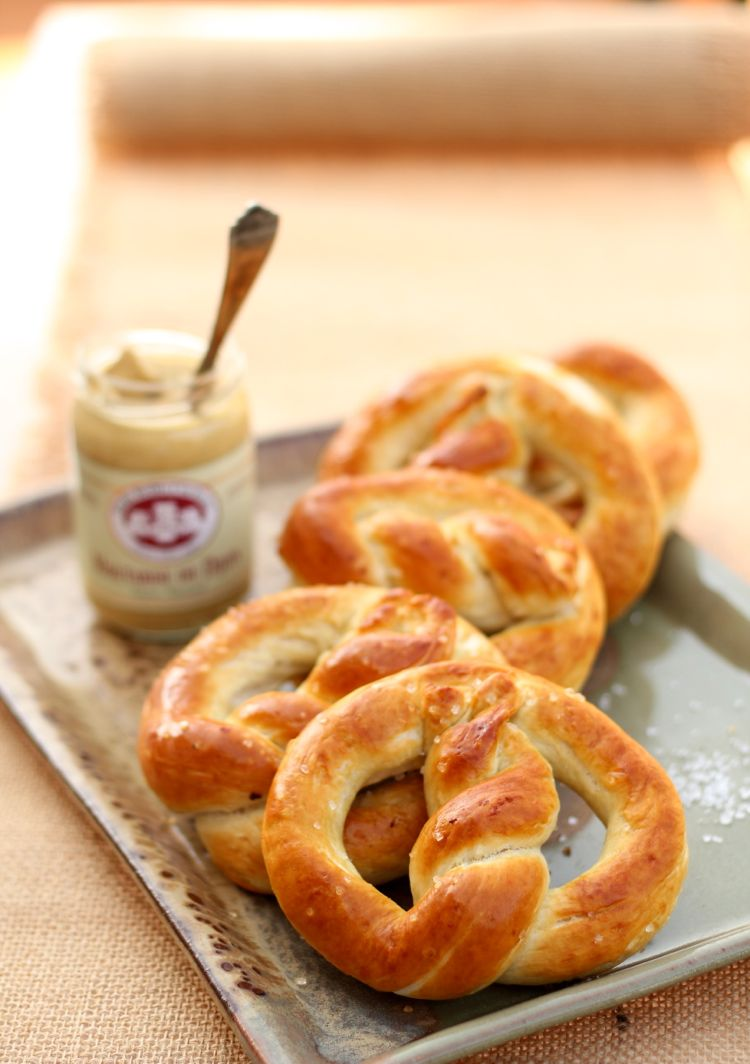 homemade pretzels recipe oktoberfest